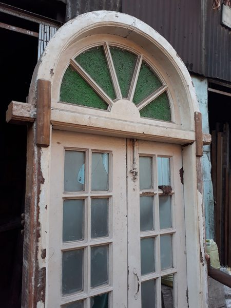 Round Door With French Design