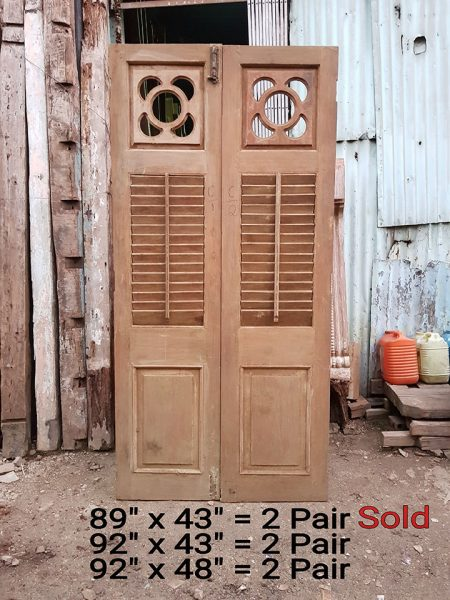 Old Louvered Shutter